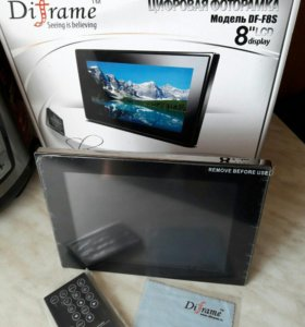 Цифровая фоторамка Diframe DF-F8S slim