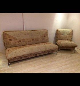 Мягкая мебель ( кресло и диван)