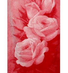 """Махровое полотенце """"Розы"""""""