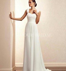 Свадебное платье на прокат(в аренду)