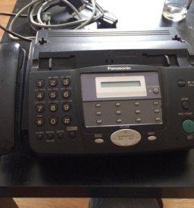 Телефон факс Panasonic KX FT 902