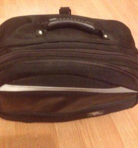 Мото сумка. Возила на хвосте.