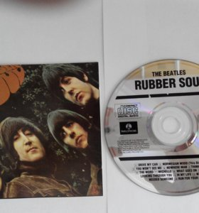 CD Beatles Rubber Soul оригинал 1965г
