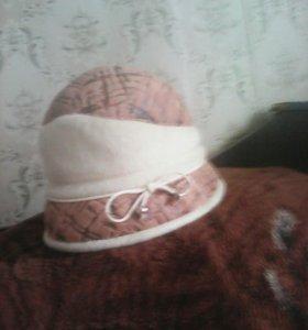 Шляпка утепленная,очень удобная