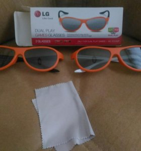 Очки dual piay games glasses LG