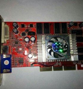 Видеокарта palit AGP fx5200 128mb