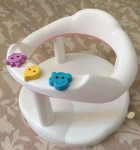 Детское сиденье для ванны на присосках