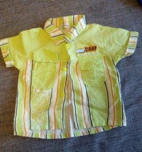 Рубашка на 8 месяцев