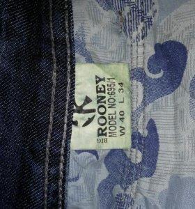 Бруки джинсовые