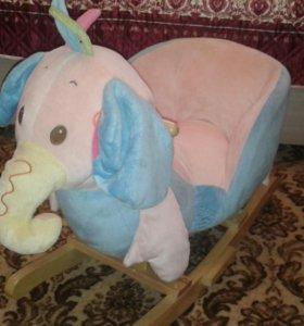Слоник качалка