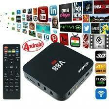 400 каналов и  фильмы бесплатно смарт ТВ бокс V88