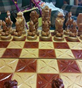 шахматы,новые ручная работа