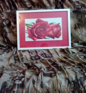 Картина ,, Розы,, .