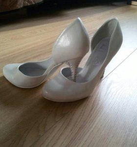 Свадебные туфельки 36 размера