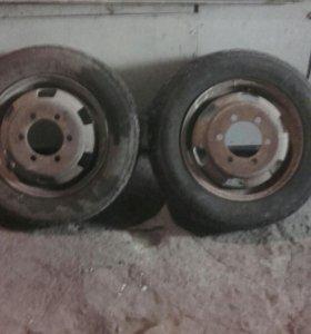 Продам колесные диски на газель