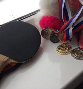 Профессиональная теннисная ракетка
