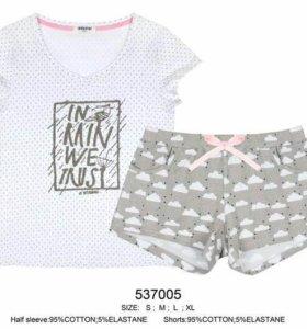 Новые пижамы.
