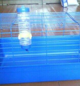 Клетка для кролика /морской свинки +поилка
