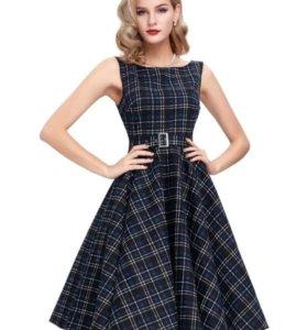 Платье 👗в ретро стиле. Размер 44-46-48. Новое