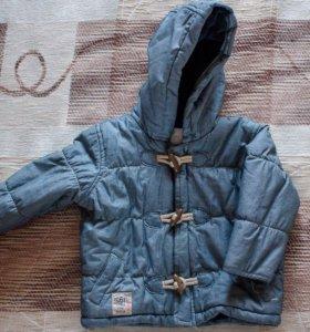 Демисезонная курточка для малыша