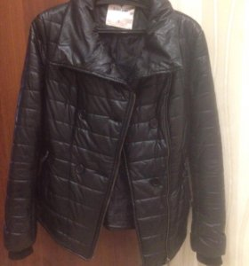Куртка осень- весна тёплая S, 42-44