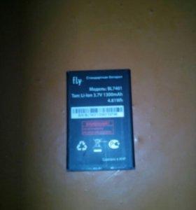 Акб на телефон fly iq238