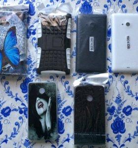 Чехлы на Nokia Lumia, Sony Xperia и Huawei Honor