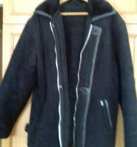 Куртка-дубленка мужская