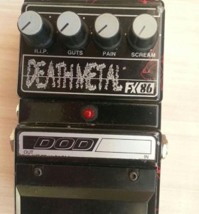 🎼 Made In Usa DOD Death Metal FX 86