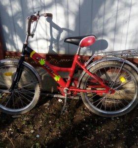 Продается велосипед на 4-8 лет
