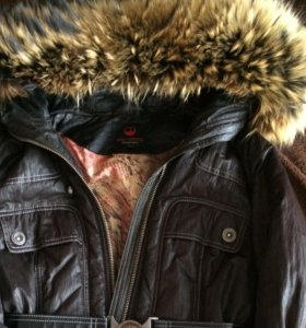 Куртка с нат.мехом