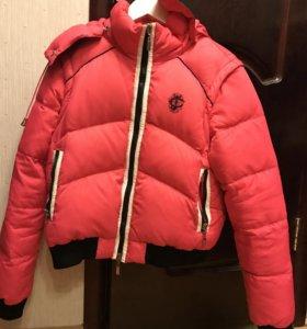 Пуховик-Куртка-безрукавка оригинал Cavallli