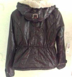 Куртка болоньевая на синтепоне
