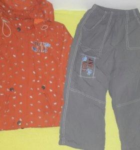 Костюм.  Куртка и штаны. весна осень.104