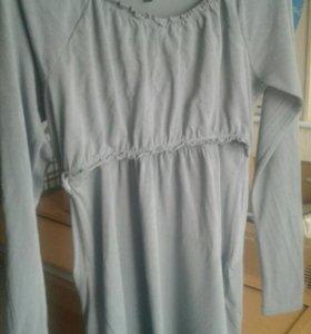 Блуза для кормящих и беременных, 50 размер