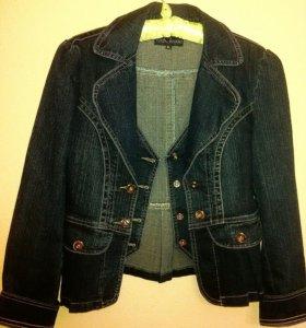 Новая джинсовка+ рубашка