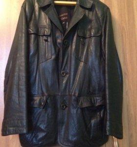 Куртка-пиджак кожа