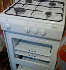 Новая газовая плита Deluxe без духовки.