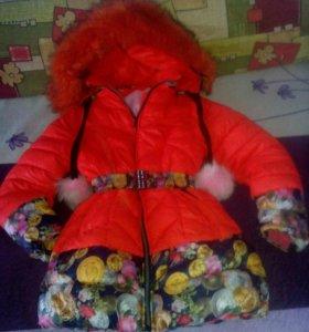 Куртка для девочки 8-10лет
