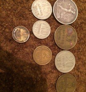 Монеты, о цене договоримся...все ссср