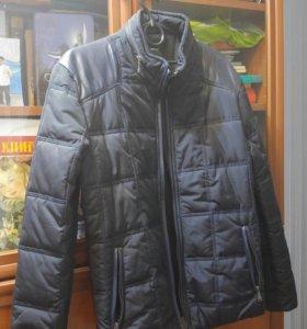 Куртка осень-весна на 10-12лет. Новая.