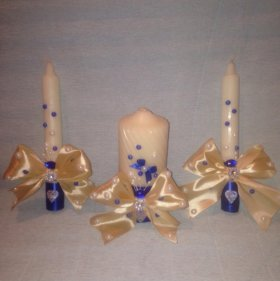 Свадебный очаг свечи