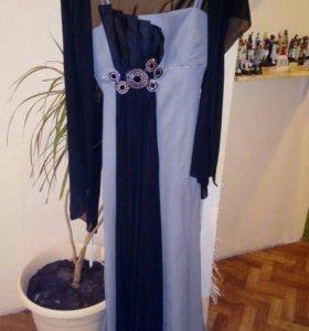 Платье вечернее, р-р 48-50