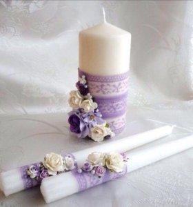 Семейный очаг свечи и тд