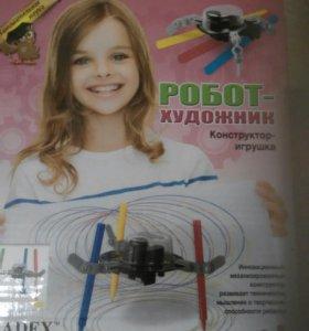 Инновационный робот художник