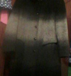 Продам пальто зимнее торг