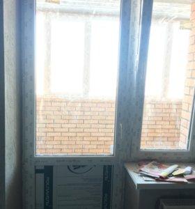 Балконные блоки ПВХ б/у