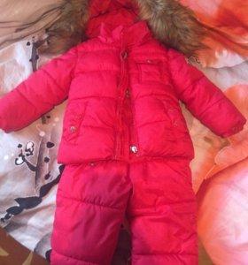 Комбинезон (штаны +куртка) зимний