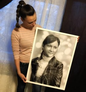 Портрет (рисунок) по фото