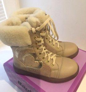 Зимние ботинки, новые!